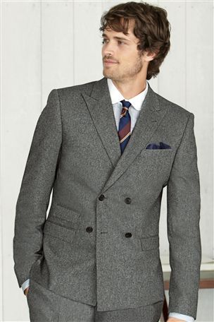 Grey Flannel Double Breasted Suit: Next UK online shop | double