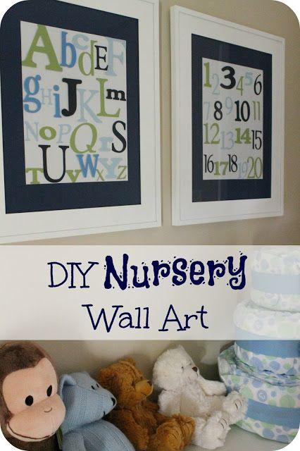 Diy Wall Art For Nursery : Diy nursery wall art gift ideas