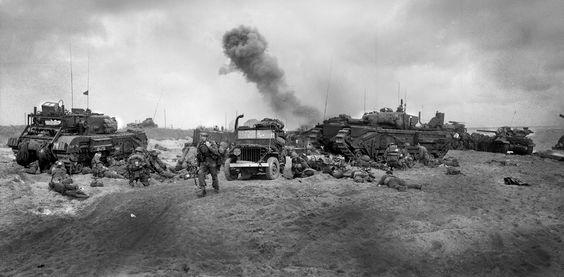 Sword Beach 6th June 1944, Normandy