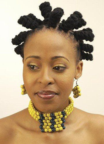 basket weave hairstyle : Bantu knots, Knots and Black women natural hairstyles on Pinterest