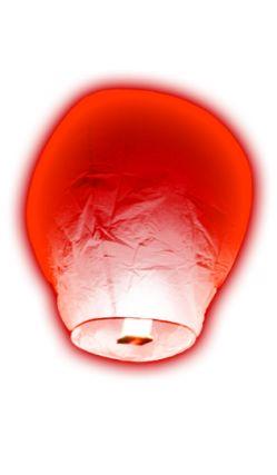 Lanterne Balloon Volante Rouge