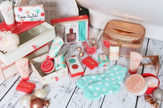 Zoella Christmas products