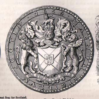 Cromwell's Great Seal of Scotland
