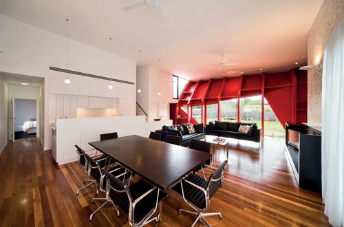 Letterbox House in Australia by McBride Charles Ryan Photo