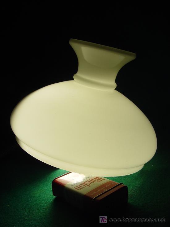 Tulipa pantalla de opalina para lampara quinque 23 5 cm - Tulipas de lamparas ...