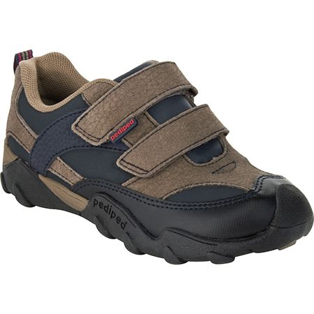 Pediped Flex Highlander - Gingersnap ~ Rugged sole similar to a hiking shoe with the styling of a casual sneaker.