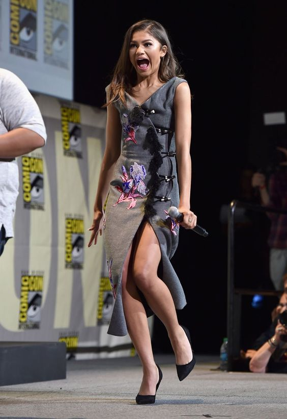 Zendaya at San Diego Comic-Con 2016 7/23/16