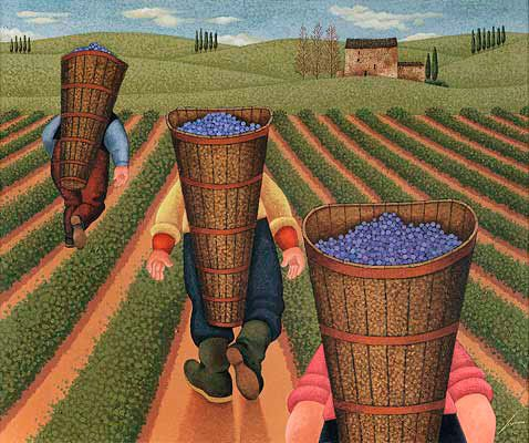 "Lowell Herrero  ~ ""Three Men with Hods"":"