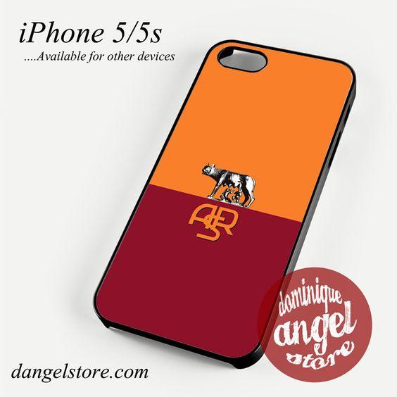 Roma Calcio Phone case for iPhone 4/4s/5/5c/5s/6/6s/6 plus