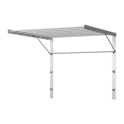 Amazon Com Ikea Stainless Steel Wall Mounted Laundry Drying Rack