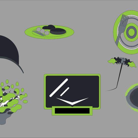 Download Free Vector - Leisure - Illustrator Icon Vector Set Vector Download