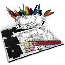 Organizador de Colorir Jardim I-Stick