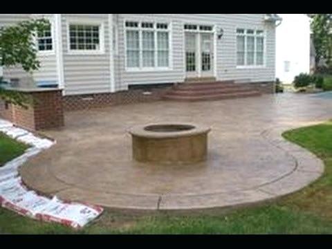Have Cement Patios Which Are Long Lasting Decorifusta Concrete Patio Designs Poured Concrete Patio Patio Pictures