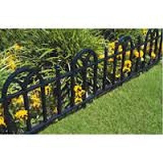 Garden Border Fence A Beauty Element with Protection Garden