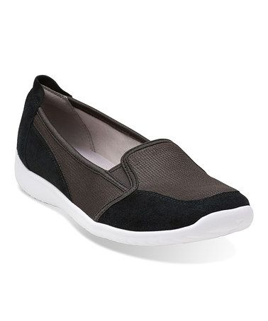 Love this Black Charron Artic Leather Slip-On Sneaker on #zulily! #zulilyfinds