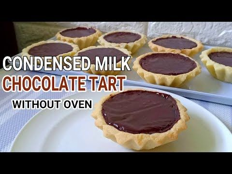 Condensed Milk Chocolate Tart Without Oven L No Bake Condensed Milk Tart Youtube In 2020 Milk Tart Chocolate Tarts Recipe Chocolate Tart