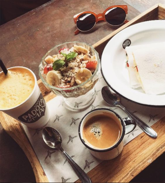 Café da manhã na Padoca do Maní pra começar o dia feliz!