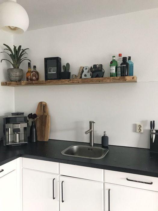 Houten Wandplank Keuken.Inspiratie Een Houten Plank In Je Interieur Keuken