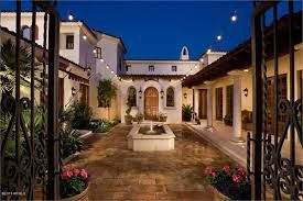 Image result for front patio with half wall arizona