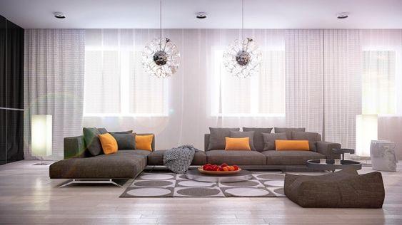 21 Idées De Décoration Design Pour Son Salon | Idée Décoration
