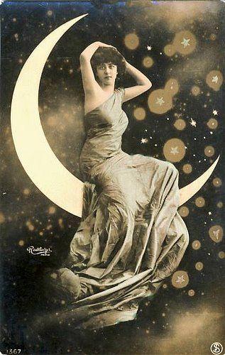 Another Star Shine Beauty!    Edwardian Postcard