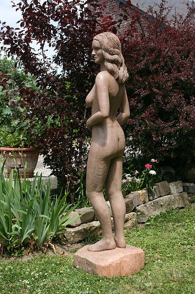 Statue, Odile Epreville.