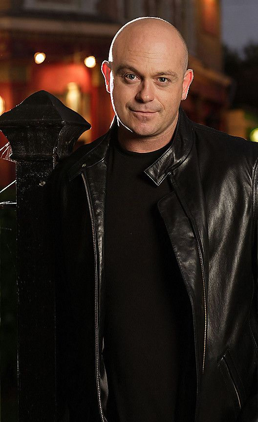 Grant Mitchell, the bad boy from the BBC's EastEnders soap opera.