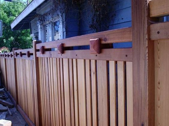 Prairie Style Fences - Google Search