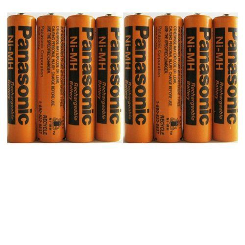 Buy 8 Pack Panasonic Nimh Aaa Rechargeable Battery For Cordless Phones At 40 Off For December 2019 Cordless Phone Rechargeable Batteries Nimh