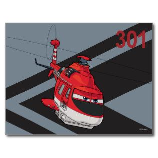 Blade Ranger Character Art Postcard | Disney Planes movie tshirts and gifts
