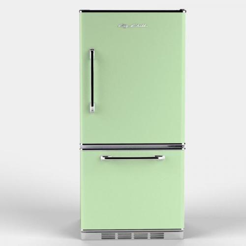 Minty antique fridge
