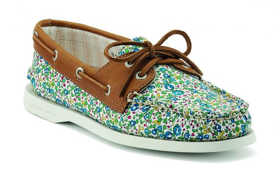 Sperry Top Sider X Liberty London Boat Shoes