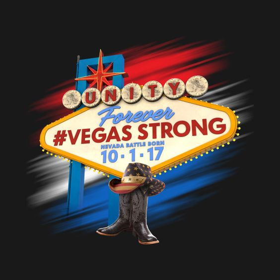 Check out this awesome 'Forever+Vegas+Strong' design on @TeePublic!