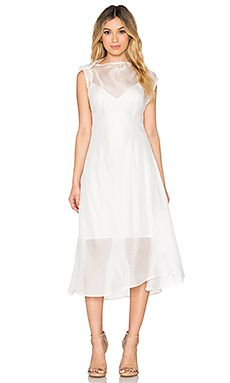 Shop for Acler Joshua Silk Dress in Ivory at REVOLVE. Free 2-3 day shipping and returns, 30 day price match guarantee.
