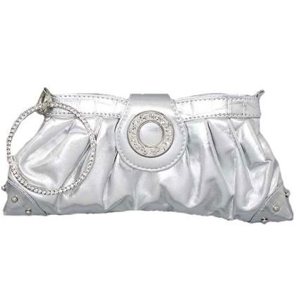 Purse Style 131 in Silver