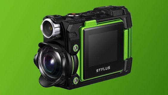 Olympus Stylus Tough TG-Tracker Aksiyon Kamerası