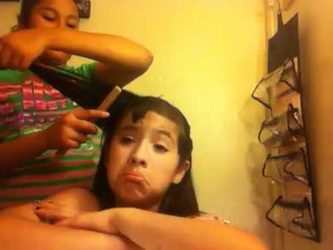 Me doing hair titorial