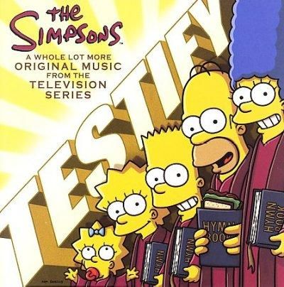 Simpsons - The Simpsons Testify