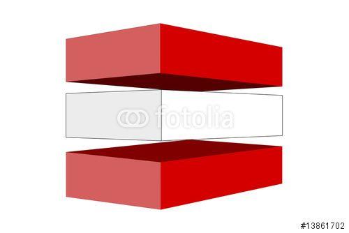Vektor: Flagbox Austria