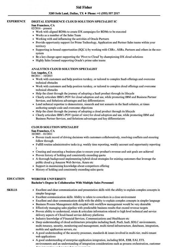 Sample Solution Architect Resume 2021 In 2020 Job Resume Examples Business Analyst Resume Resume Examples