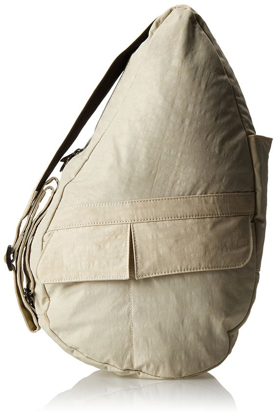 AmeriBag Small Distressed Nylon Healthy Back Bag ** You can find more details here : Travel Backpack