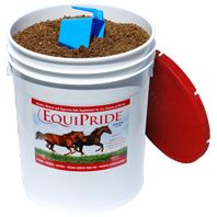 EquiPride Vitamin, Mineral and Digestive Aid-- love this stuff. My mare looks great and I swear it's helped her heal faster over the last 4 months.