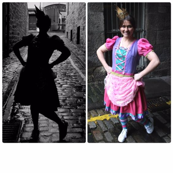 """""""Out of the Shadows""""  Julie Heatherill is appearing as Princess Pumpalot in the Cadies Productions / LRStageworks Edinburgh Festival Fringe production of Princess Pumpalot: The Radio Show - Live on Stage! at Sweet Venues, Apex Grasssmarket (4th to 16th, 20 & 21st August 2016).   TICKETS:  https://tickets.edfringe.com/whats-on/princess-pumpalot-the-radio-show-live-on-stage  #Fart2016"""