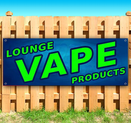 Vape Lounge Products Advertising Vinyl Banner Flag Sign 15 18 24 40 52 In 2020 Vinyl Banners Outdoor Vinyl Banners Vape