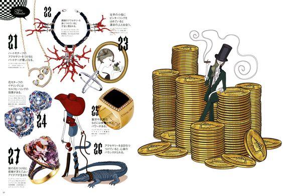 ArtList - Illustration - Aurélie Castex // Mesdemoiselles - EDITION