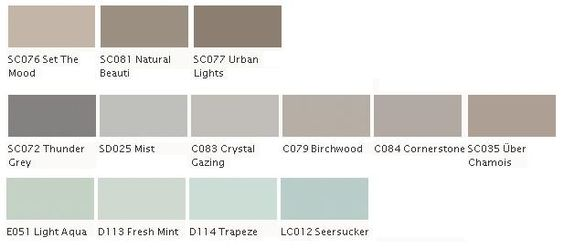 Home Hardware Beauti-Tone Paint Colors... Lots Of Choices