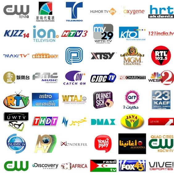 Tv Channel Logos Examples Logo Design Pinterest