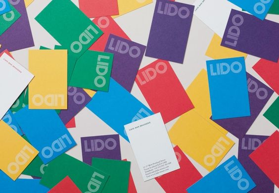 Lido Business Cards by Touch