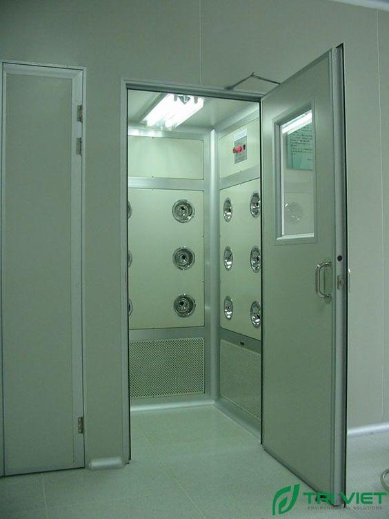 buồng thổi bụi air shower tphcm