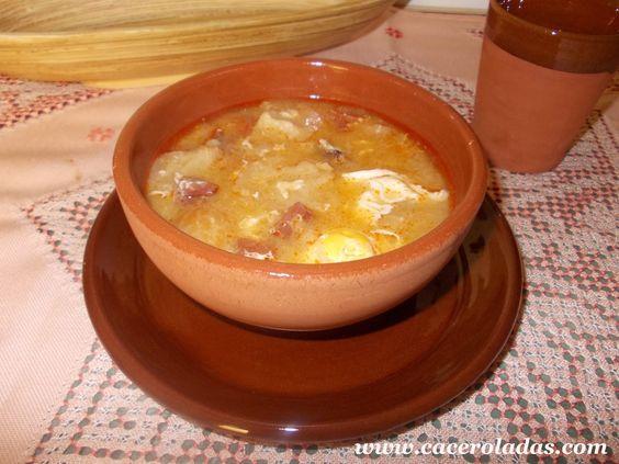 Caceroladas: Sopa de Ajo (Sopa Castellana)